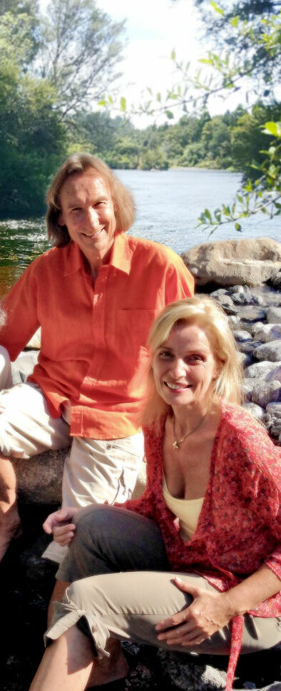 Petra Eberle und Gerd Bodhi Ziegler