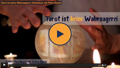 Online Tarotkurs Werbevideo